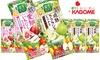 送料無料|カゴメ|野菜生活100 愛知いちじくミックスヨーグルト風味(195ml×48本)他