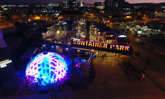 The Dome At Container Park Up To 43 Off Las Vegas Nv