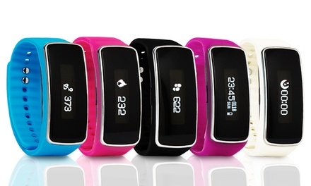 BaS TeK V5S Fitness Tracker with Optional Heart Rate Monitor Function With Free Delivery