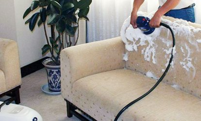 Sofa, Carpet or Mattress Cleaning from Helpsters (Up to 64% Off)