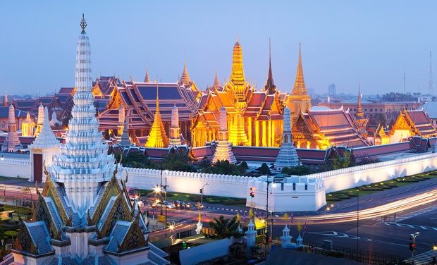 TripAlertz wants you to check out ✈ 10-Day Tour of Bangkok, Dubai, & Hong Kong w/ Airfare on Emirates. Price per Person Based on Double Occupancy. ✈ 10-Day Trip to Bangkok, Hong Kong, & Dubai—Airfare Included - 10-Day Tour of Asia's Top Cities