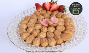 Oficina do Sabor: Oficina do Sabor – Prado: kit festa com salgados e doces para 25 ou 50 pessoas