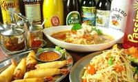 【62%OFF】某グルメサイト3.56の高評価店。タイシェフが作る本格タイ料理を ≪ ガパオなど約60種類から選べる本格タイ料理 5品 ...