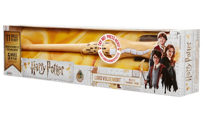 Bone Harry Potter Voldemorts Feature Wizard Training Wand Toy