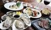 POP LIFE (ポップライフ) - POP LIFE: 55%OFF【2,480円】某グルメサイト評価3.51のオイスターBAR。牡蠣のクリーミィな味わいが、口に広がる≪牡蠣尽くし贅沢コース全9品+選べる1ドリンク≫ @POP LIFE (ポップライフ)