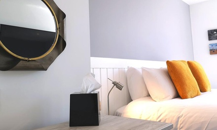 Lytham: Seaside Escape with Standard Snug or Deluxe Cosy Double Room and Breakfast for Two at Mode Hotel Lytham
