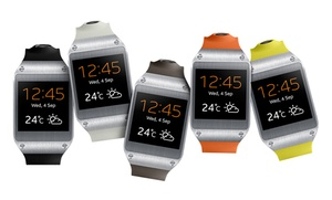 Samsung Galaxy Gear Smartwatch. Available In Six Colors.