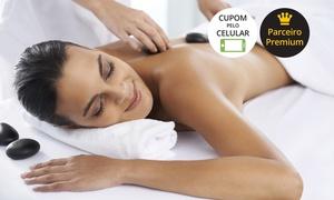 Centro de Laser: Centro de Laser – Av. Paulista:mini day spa com massagem de pedras quentes, massagem nos pés e olhos e manta