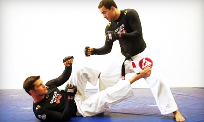 Gracie Barra - Multiple Locations: One or Three Months of Unlimited Jiu-Jitsu or Women's Kickboxing Classes at Gracie Barra (Up to 77% Off)