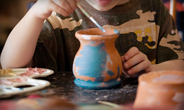 Sunshine Glaze - Southlake Town Square: $10 for $20 Worth of Paint-Your-Own Pottery at Sunshine Glaze