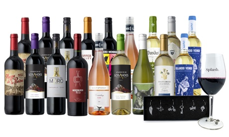 18-Bottle Mega-Pack + Free Gift from Until Next Time Wines (78% Off)