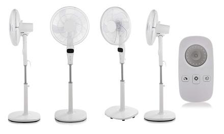 Pifco 16'' Pedestal Fan