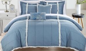 Leroy Bedding Comforter Set (7-Piece) at Leroy Bedding Comforter Set (7-Piece), plus 9.0% Cash Back from Ebates.