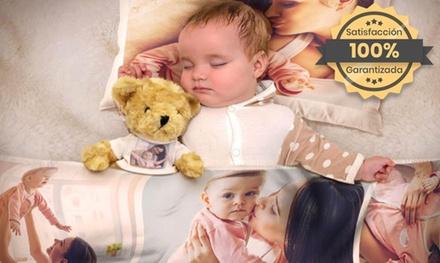 Mantas personalizas para niños de diferentes tamaños a elegir con Printerpix