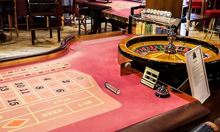 €20 or €40 Toward Casino Credit and Two Beers at Fitzpatrick's Casino