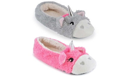 Unicorn Ballet Slippersin Choice of Colour and Size