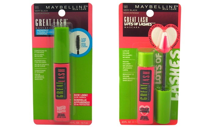 Maybelline Great Lash Classic, Waterproof, or Lots of Lashes Mascara