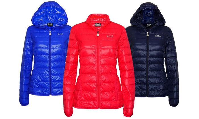 5ebab939 Up To 36% Off Emporio Armani E7 Women's Jacket | Groupon