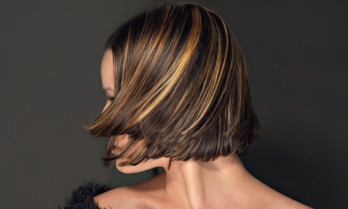 Amanda Kelly Salon - Hyde Park: Brazilian Blowout, Bridal-Party Package, or Haircut and Color or Highlights at Amanda Kelly Salon (Up to 62% Off)