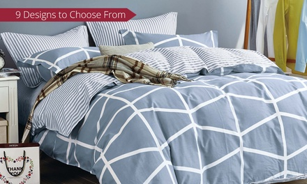 for an Egyptian Cotton Printed Quilt Cover Set in a Choice of Style and Size