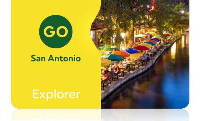 Go San Antonio Explorer Pass Go City San Antonio