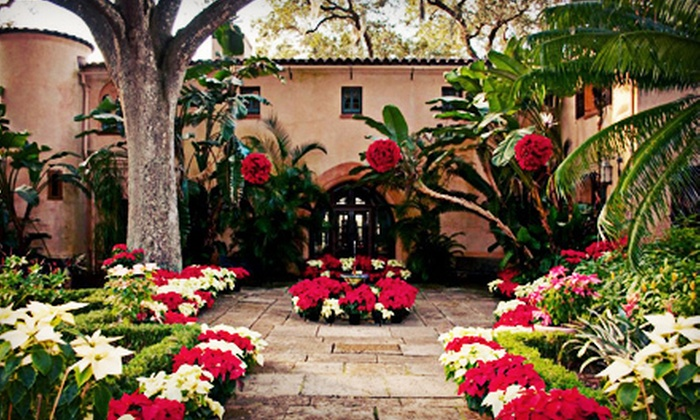 Bok Tower Gardens - Lake Wales: Christmas House Tour and Historical Gardens Visit for Two or Four at Bok Tower Gardens (Up to 58% Off)