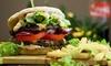 Burger Brothers - Essen: Burger mit Beilage und einem Dip nach Wahl für 2 oder 4 Personen bei Burger Brothers (19% sparen*)