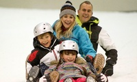 Indoor Sledging for One or Four at Snow Factor, Braehead (Up to 57% Off)