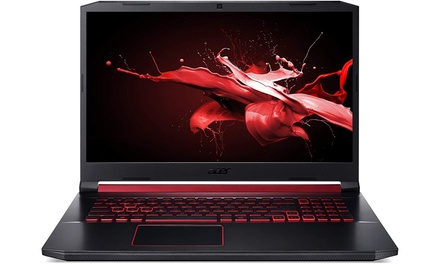 "Acer Nitro 5 17.3"" Laptop with Intel Core i5-10300H Processor, 8GB RAM, and 512GB (Manufacturer Refurbished)"