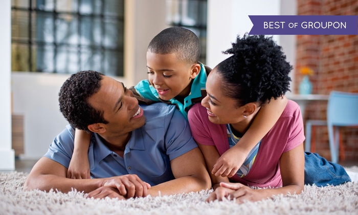 Caesar's Janitorial Services - Salt Lake City: $84 for Carpet Cleaning for 5 Rooms with 2 Hallways/Stairs from Caesar's Janitorial Services ($290 Value)