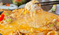 【 46%OFF 】メインは、チーズタッカルビ or クリームフォンデュから選べる ≪ soraランチコース全7品+ソフトドリンク飲み放...