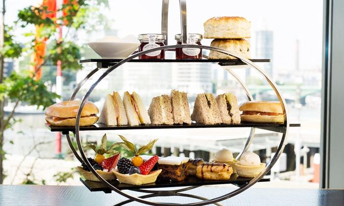 Crowne Plaza London Battersea - Battersea: Afternoon Tea for Two or Four at Crowne Plaza London Battersea (45% Off)