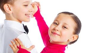 Crystal Dance Center: Four or Eight Ballroom Dance Classes for Kids at Crystal Dance Center
