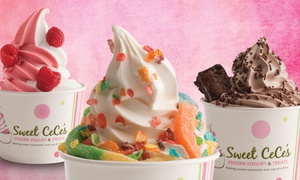 $6 for $10 Worth of Frozen Yogurt at Sweet CeCe's. Eight Options Available.