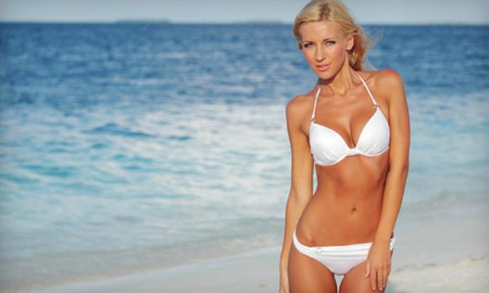 360 Tans - Lakewood Village: $19 for a Custom Airbrush Tan at 360 Tans ($50 Value)