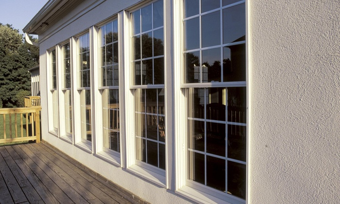 Clear Vue Pros - Charlotte: Two Hours of Window Cleaning from Clear Vue Pros (55% Off)