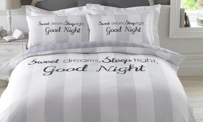 Sweet Dreams Duvet Cover Set