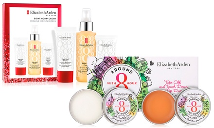 Elizabeth Arden Lip Duo Protectant and Scrub Set and Cream Miracle Moisturizers Gift Set