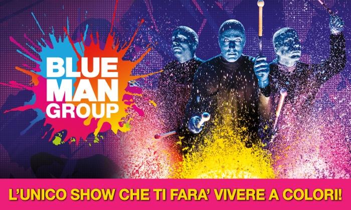 Blue Man Group, dall'8 al 12 novembre al Teatro degli Arcimboldi di Milano (sconto fino a 41%)