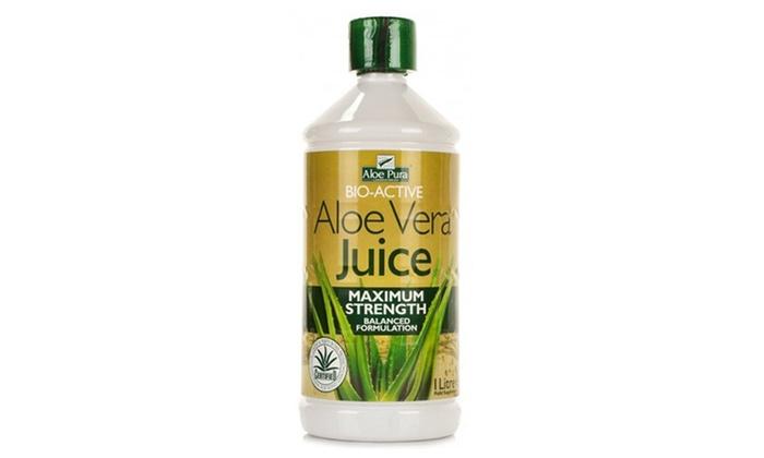 Pura Gmbh optima health aloe vera juice groupon