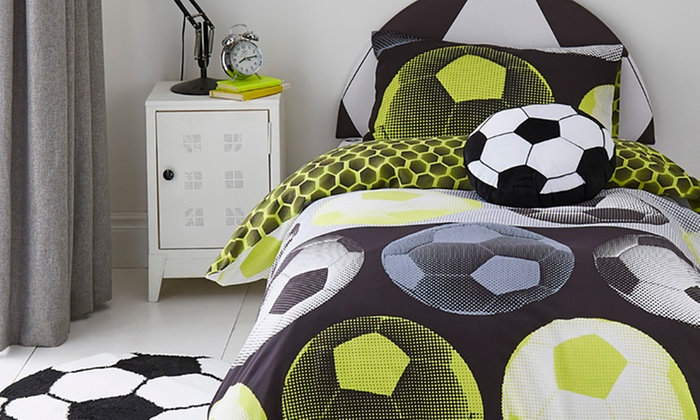 Catherine Lansfield Children's Football Headboard