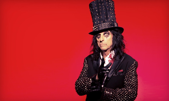 """Alice Cooper & Marilyn Manson: Masters of Madness Tour"" - USANA Amphitheatre: Alice Cooper & Marilyn Manson: Masters of Madness Tour at USANA Amphitheatre on Tuesday, June 4 (Up to 57% Off)"