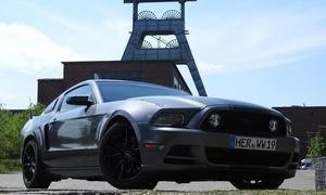 Events Frank Wirtz: 4 Std., 24 Std. oder 1 Woche Mustang GT mit 500 PS fahren bei Events Frank Wirtz (bis zu 30% sparen*)