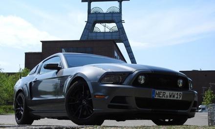 4 Std., 24 Std. oder 1 Woche Mustang GT mit 500 PS fahren bei Events Frank Wirtz (bis zu 30% sparen*)
