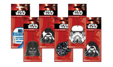6 £4.99, 12 £8.99 or 24 £16.99 Star Wars Car Air Fresheners