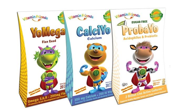 Vitamin Friends Children's Vitamins (20 Servings)