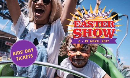Sydney Royal Easter Show: Kids' Day Tickets .50 at Sydney Olympic Park, 19 April