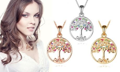 1 o 2 collares decorados con cristales Gem Colors