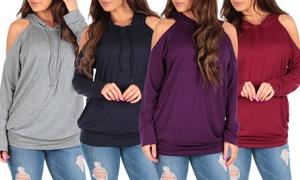 Open-Shoulder Sweater (2-Pack)