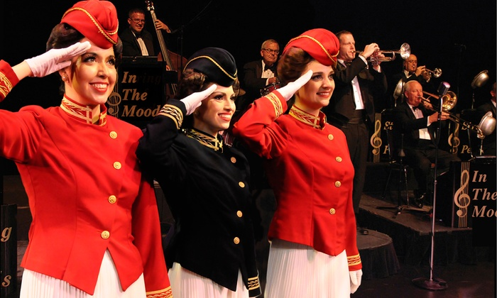 """In the Mood - The Oncenter Crouse Hinds Theater: """"In the Mood"""" 1940s Big-Band Revue on March 30 at 2 p.m. or 7:30 p.m."""